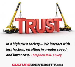 What is the level of trust in your culture? What do employees think of ...