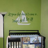 we can adjust the sails wall decals $ 19 00 bee my little baby quote ...