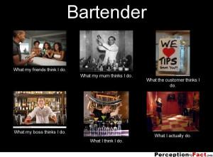Funny Bartender