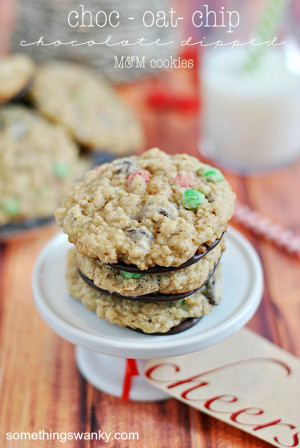 Choc-Oat-Cookies & Christmas Quotes
