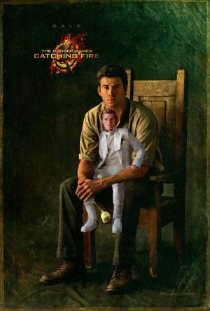 The Hunger Games Peeta Mellark gale hawthorne Catching Fire capitol ...