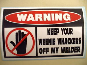 Funny Welding Stickers