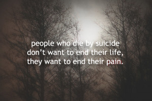 really sad suicide quotes