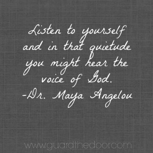 Rest In Peace, Dr. Maya Angelou