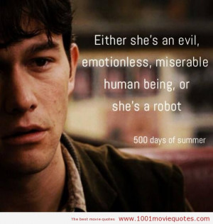 Search Results for: 500 Days Of Summer 2009 Quotes Imdb