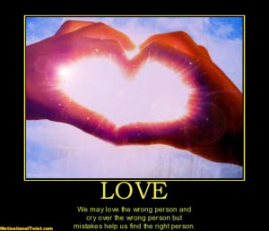 May Love The Wrong Person