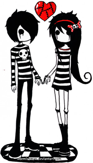 Cute Emo Animes Couples