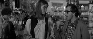 Mariel Hemingway as Tracy and Woody Allen as Isaac Davis in Manhattan ...