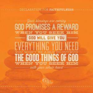 Seek God