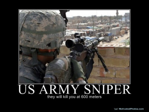 US Army sniper Image