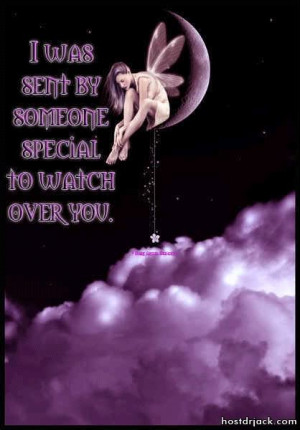 ... BY SOMEONE SPECIAL TO WATCH OVER YOUteksten quotes and sayings Image