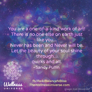 The Wellness Universe Quote of the Day by Sandy Evans Pullin