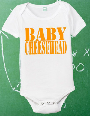Baby Cheesehead Infant Shirt Lil Packer Fan Newborn Green Bay Packers ...