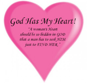 woman s heart should be so hidden in god that a man has to seek him ...