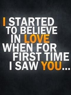Love Quote Mobile Wallpaper