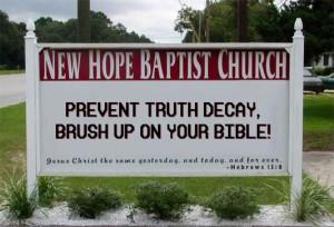 Church Signs Sayings