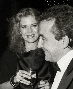 Candice Bergen and Louis Malle