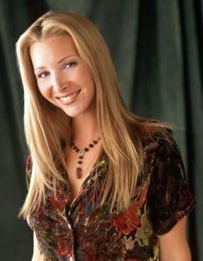 Lisa Kudrow as Phoebe Buffay - Photo courtesy of NBC