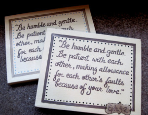 Custom Bible Verse Canvas Sign Wedding Gift Newlyweds