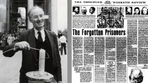 Peter Benenson im Jahr 1981 er war der Gr nder von Amnesty