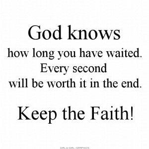 Girly-Girl-Graphics Christian Quotes: God know how long you have ...