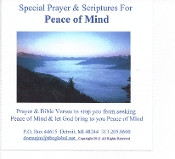 Peace Of Mind Scriptures MP3