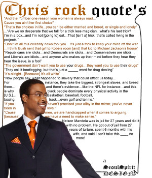Chris rock quotes. Thought it would make some chuckle