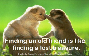 Myspace Graphics > Friendship Quotes > finding an old friend Graphic