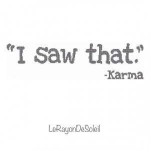 Modern cross stitch pattern karma text funny quotes on Etsy, 3,00 €
