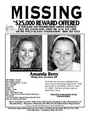 Missing Child Flyer