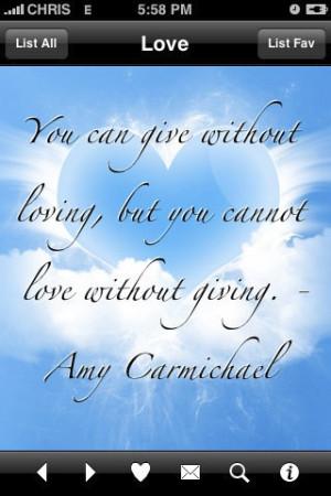 Amy Carmichael quote -