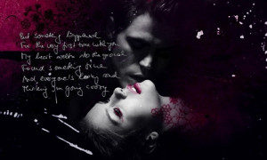 Bleeding Love - stefan-and-elena Fan Art