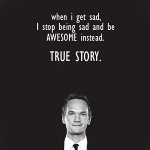 "... Barney Stinson character in the tv series ""How I Met Your Mother"