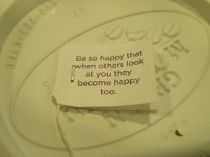 Inspiration From Tea Bag Sayings « Read Less