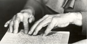 Helen Keller Braille Peace