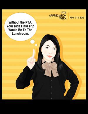 Funny PTA appreciation week posters! Good stuff!