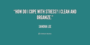 Quotes About Coping With Stress