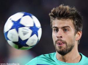 Most Promising Spanish Central Defender Gerard Pique