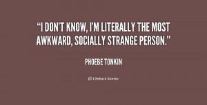 Phoebe Tonkin Quotes