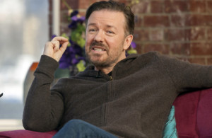 Ricky Gervais makes good money offending everyone in sight, but if you ...