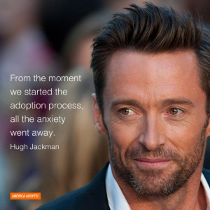 anxiety went away hugh jackman actor and and adoptive father