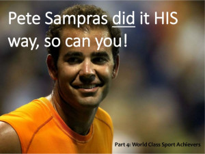 Pete Sampras Motivational sayings and Quotes.