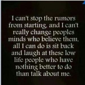 Drama.....not in my life