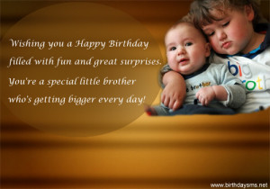 ... little brother birthday card birthday card for brother way to make