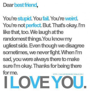 best firend, bff, love, text, words, you