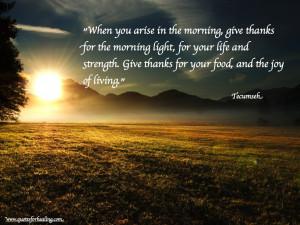 Tecumseh Quotes Tecumseh quotes weekly healing