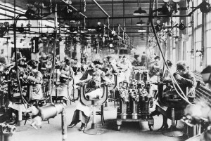 ... Department of the Lincoln Motor Co., in Detroit, Michigan, ca. 1918