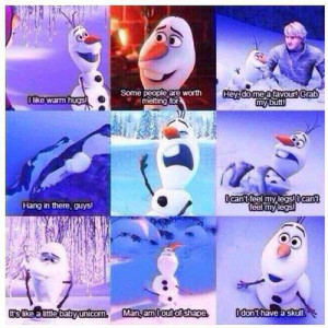 Olaf from Disney's Frozen!
