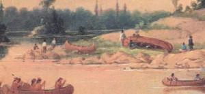 Paul Kane- Ojibway Encampment