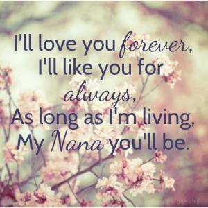 I Love My Nana Quotes. QuotesGram
